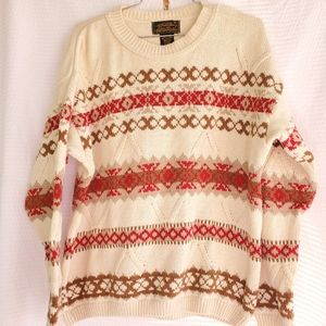Eddie Bauer Outdoor Outfitters Knit Sweater